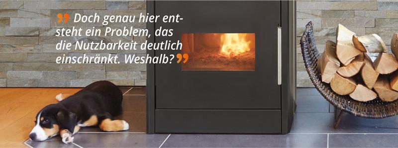 LUVANO® Holzvergaser-Kaminofen